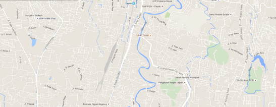 peta lokasi pengadilan