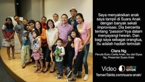 Poster Suara Anak Clara Ng