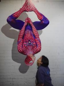 masih dengan spiderman di De Mata